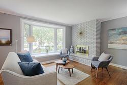 Living Room at 25 Plateau Crescent, Banbury-Don Mills, Toronto