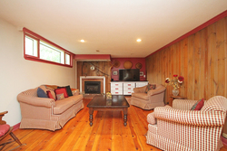 Recreation Room at 25 Plateau Crescent, Banbury-Don Mills, Toronto