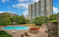Front & Recreational Facilities at 606 - 275 Bamburgh Circle, Steeles, Toronto