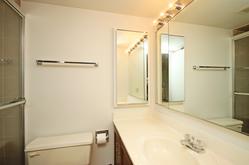 3 Piece Bathroom at 606 - 275 Bamburgh Circle, Steeles, Toronto
