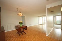 Living & Dining Room at 606 - 275 Bamburgh Circle, Steeles, Toronto