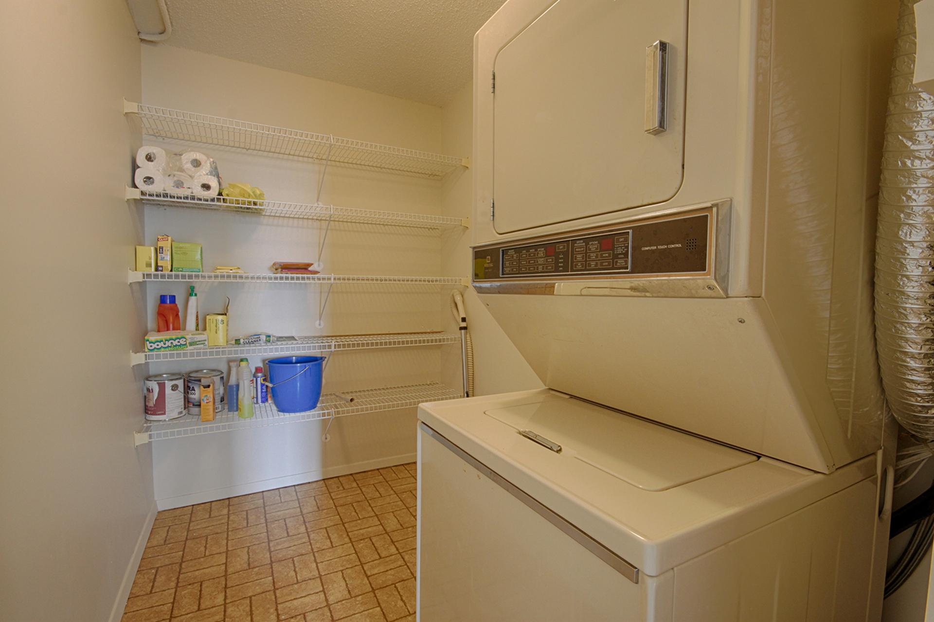 Laundry Room at 606 - 275 Bamburgh Circle, Steeles, Toronto