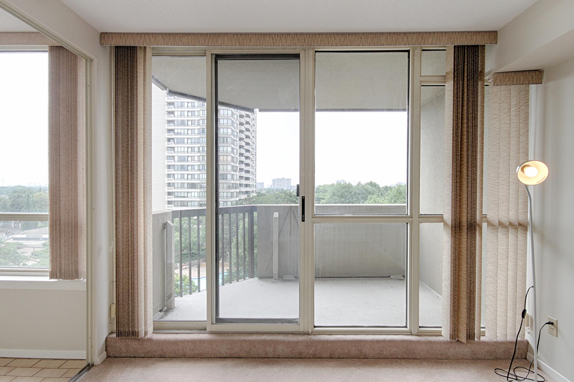 Balcony at 606 - 275 Bamburgh Circle, Steeles, Toronto