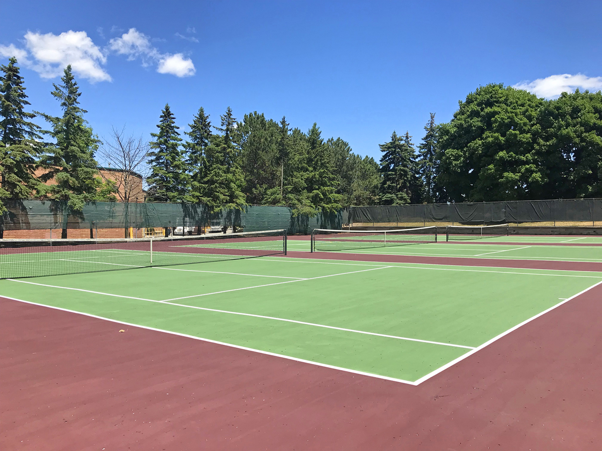 Tennis Courts at 606 - 275 Bamburgh Circle, Steeles, Toronto