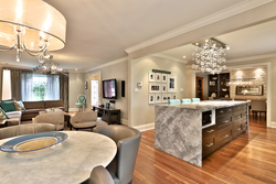 Breakfast Room & Kitchen at 32 Geraldine Court, Parkwoods-Donalda, Toronto