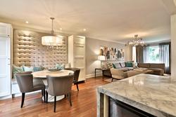 Breakfast Room & Living Room at 32 Geraldine Court, Parkwoods-Donalda, Toronto