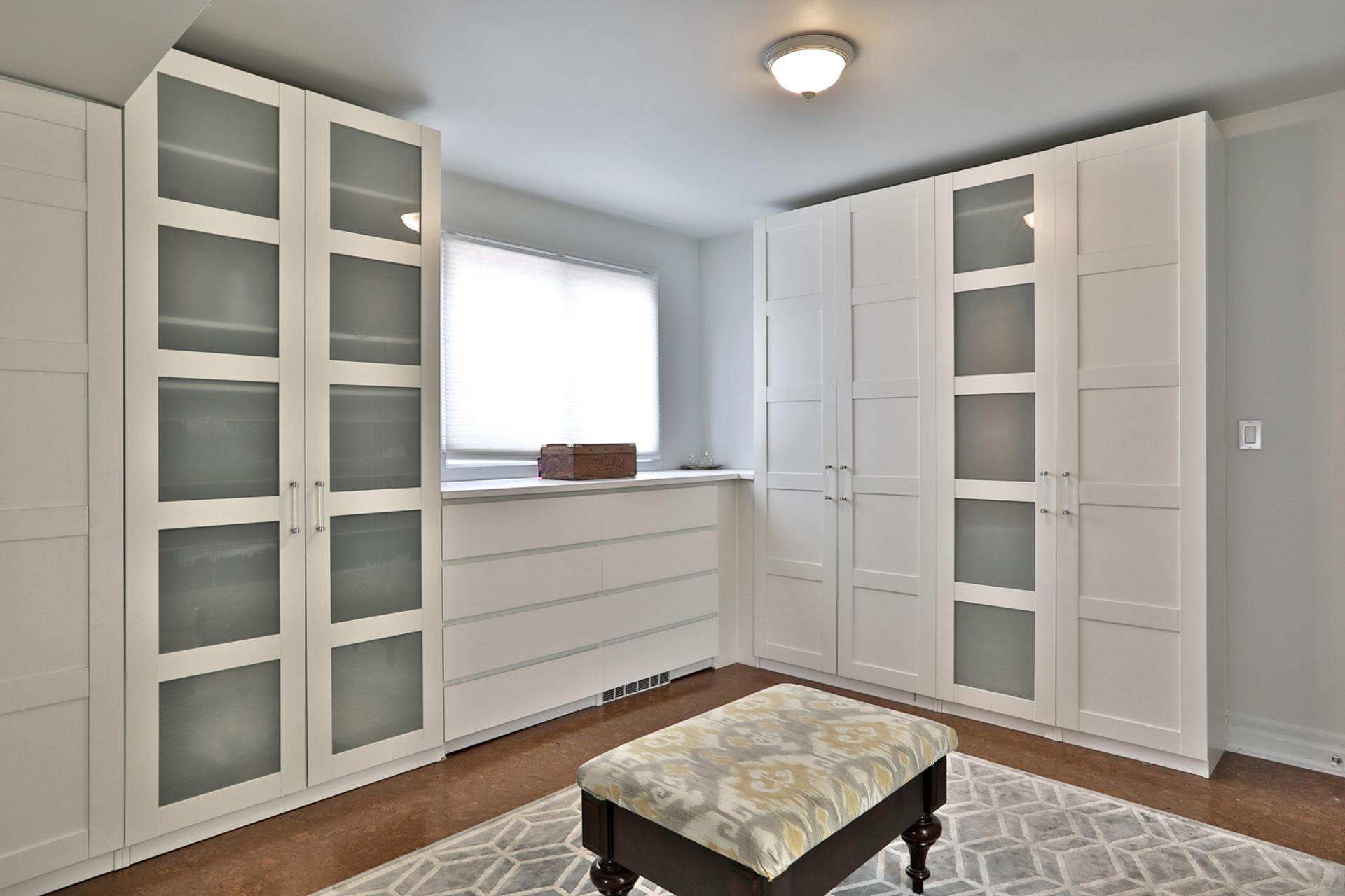 Master Bedroom Dressing Room at 32 Geraldine Court, Parkwoods-Donalda, Toronto