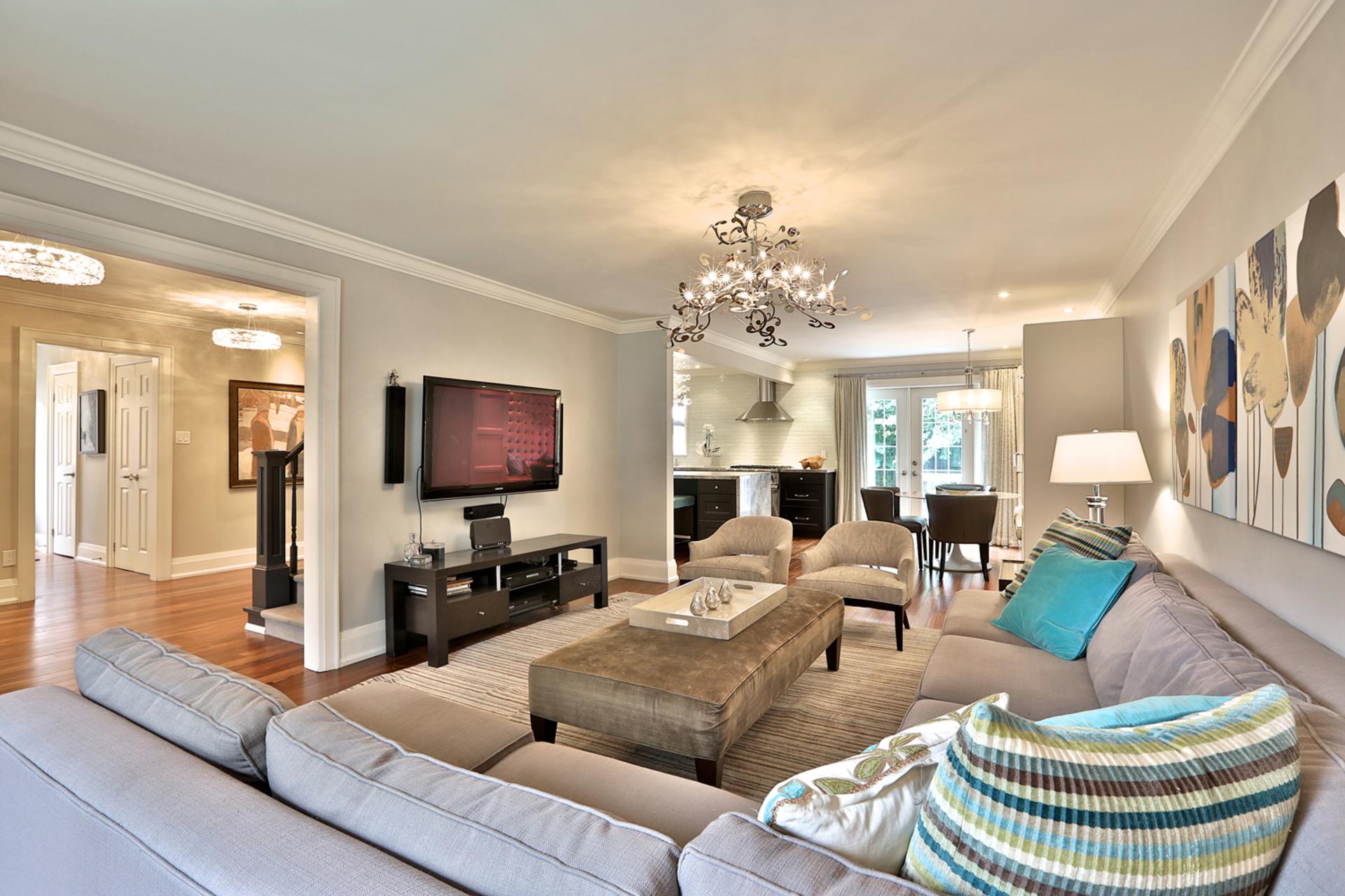 Living Room at 32 Geraldine Court, Parkwoods-Donalda, Toronto