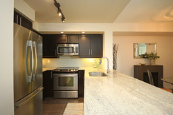 Kitchen at 421 - 75 East Liberty Street, Niagara, Toronto
