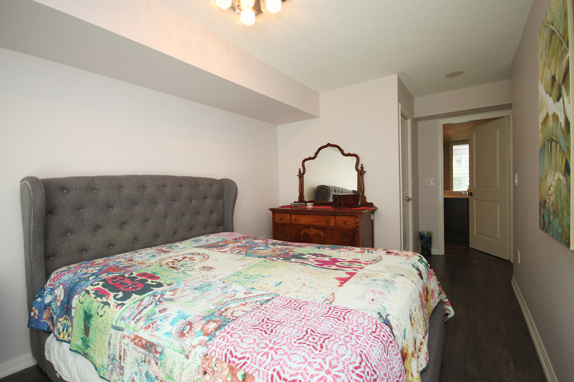 Master Bedroom at 421 - 75 East Liberty Street, Niagara, Toronto