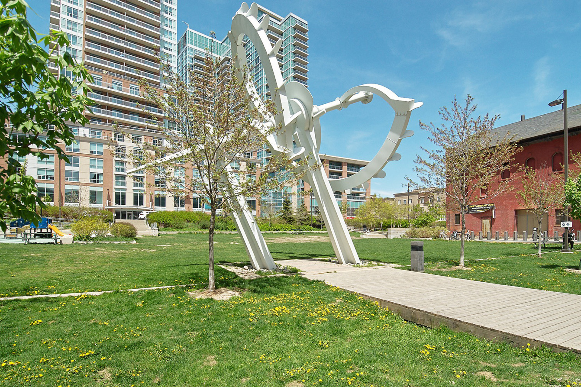 Liberty Park at 421 - 75 East Liberty Street, Niagara, Toronto