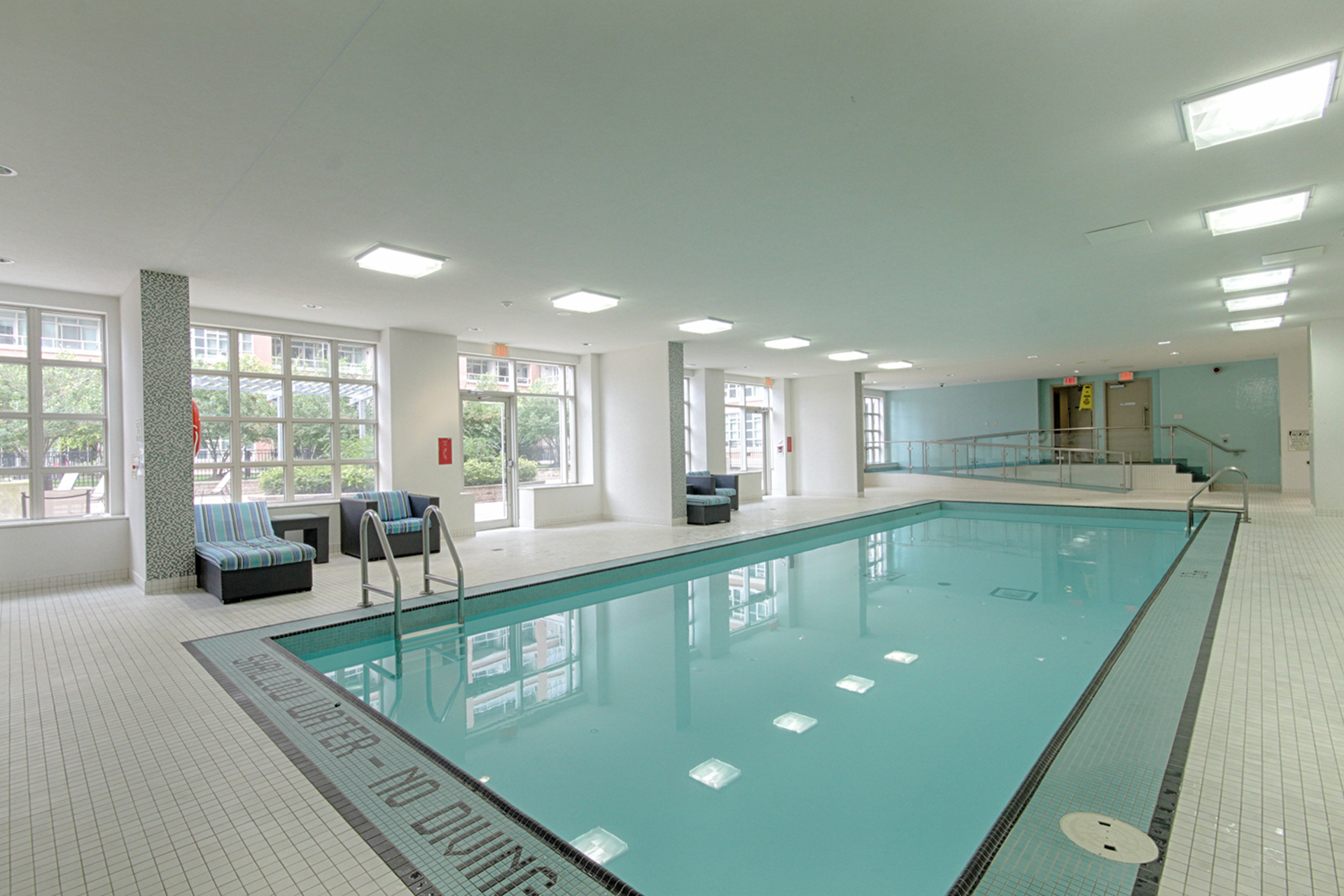 Indoor Swimming Pool at 421 - 75 East Liberty Street, Niagara, Toronto