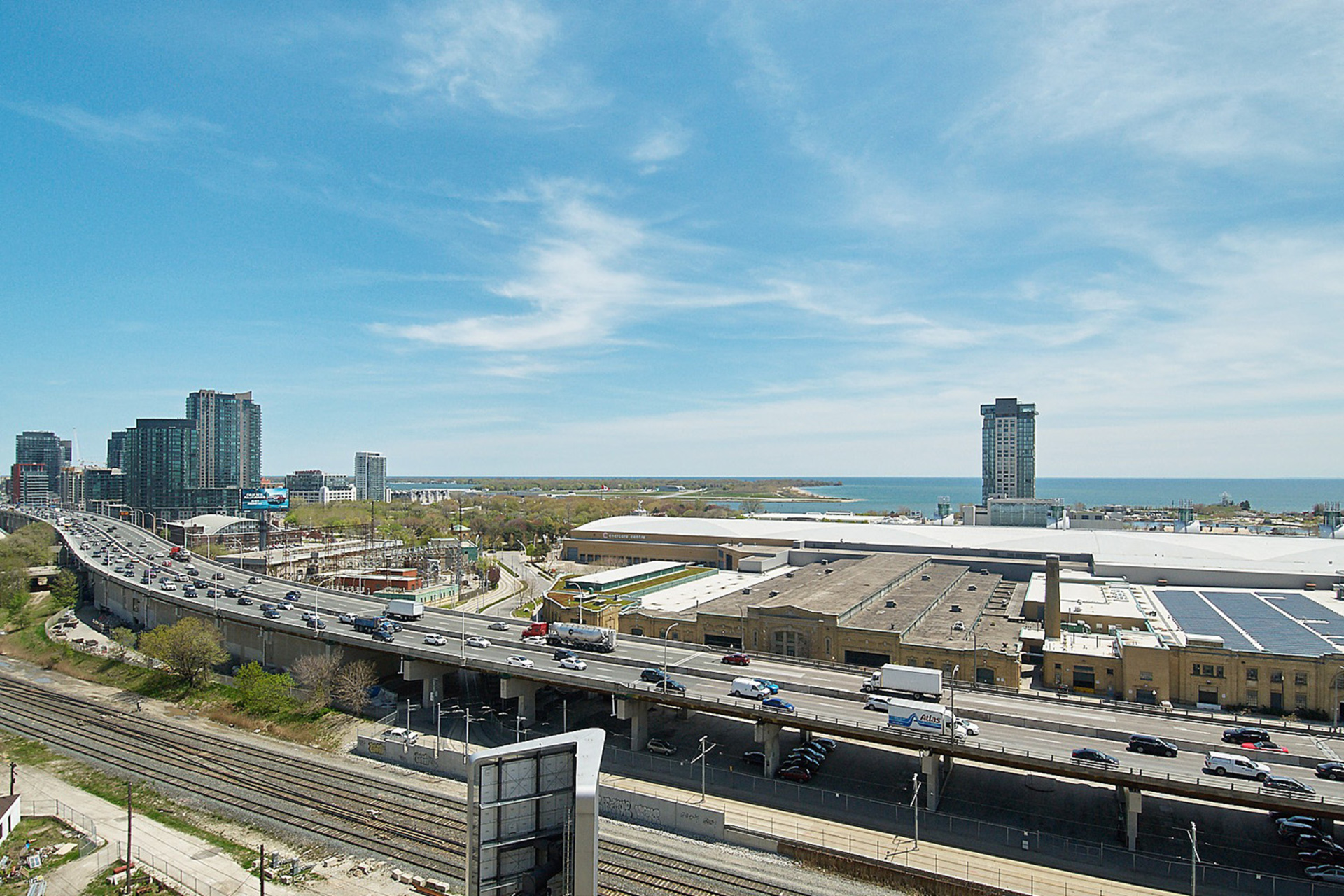 View from Rooftop at 421 - 75 East Liberty Street, Niagara, Toronto