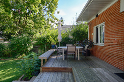 Backyard at 40 Addison Crescent, Banbury-Don Mills, Toronto