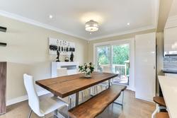 Dining Room at 39 Olsen Drive, Parkwoods-Donalda, Toronto