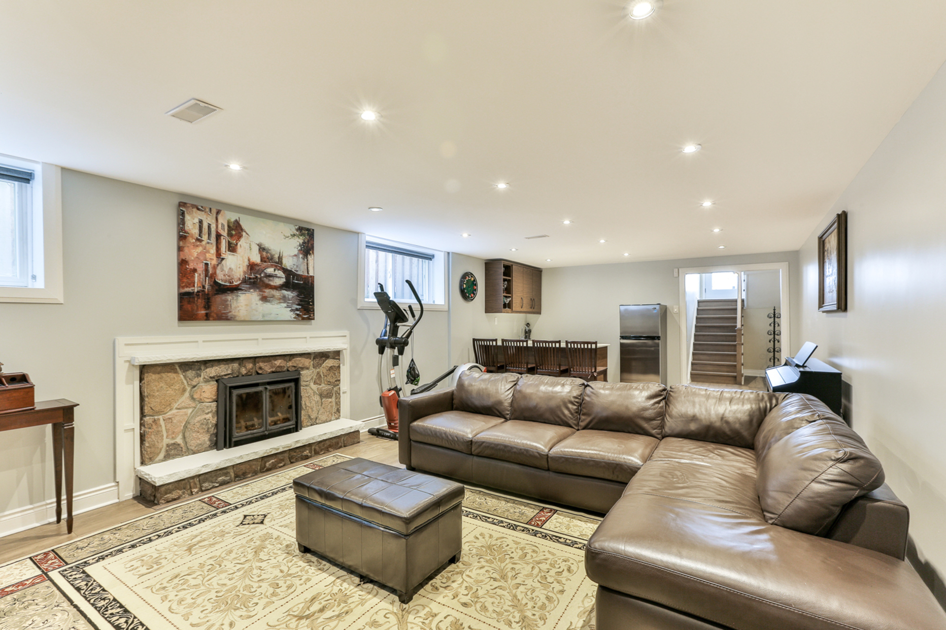 Recreation Room at 39 Olsen Drive, Parkwoods-Donalda, Toronto