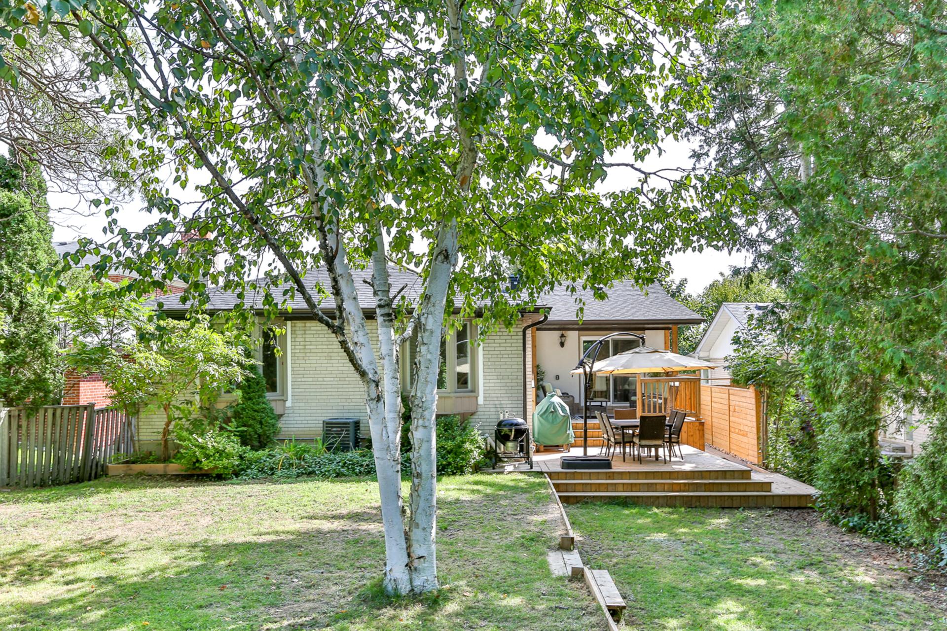 Backyard at 39 Olsen Drive, Parkwoods-Donalda, Toronto