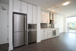Kitchen at 105 - 75 The Donway W, Banbury-Don Mills, Toronto