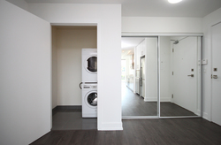 Ensuite Laundry at 105 - 75 The Donway W, Banbury-Don Mills, Toronto