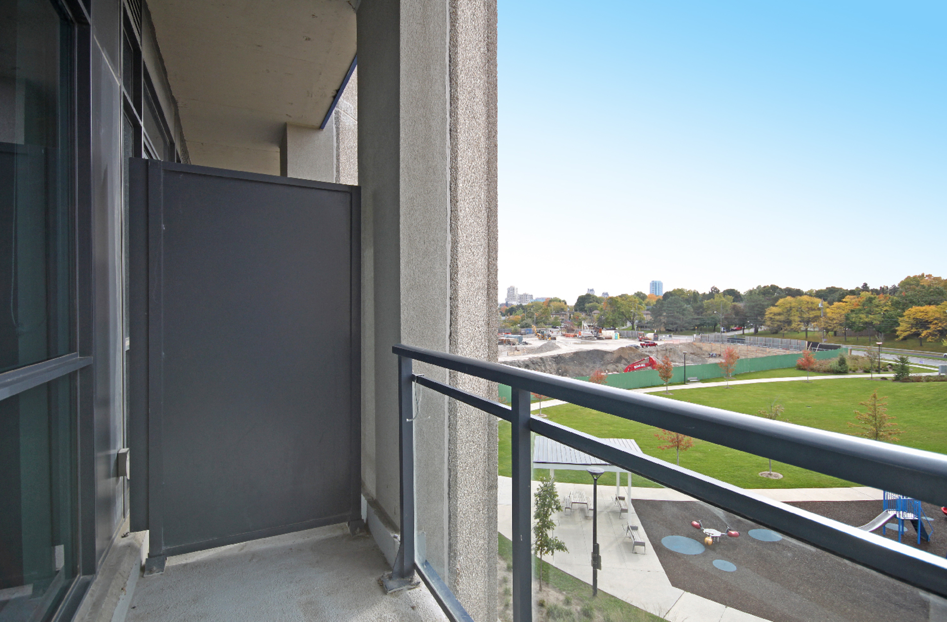 Balcony at 409 - 75 The Donway West, Banbury-Don Mills, Toronto