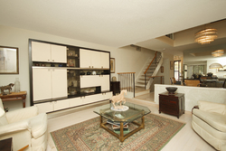 Living Room at 93 Dutch Myrtle Way, Banbury-Don Mills, Toronto