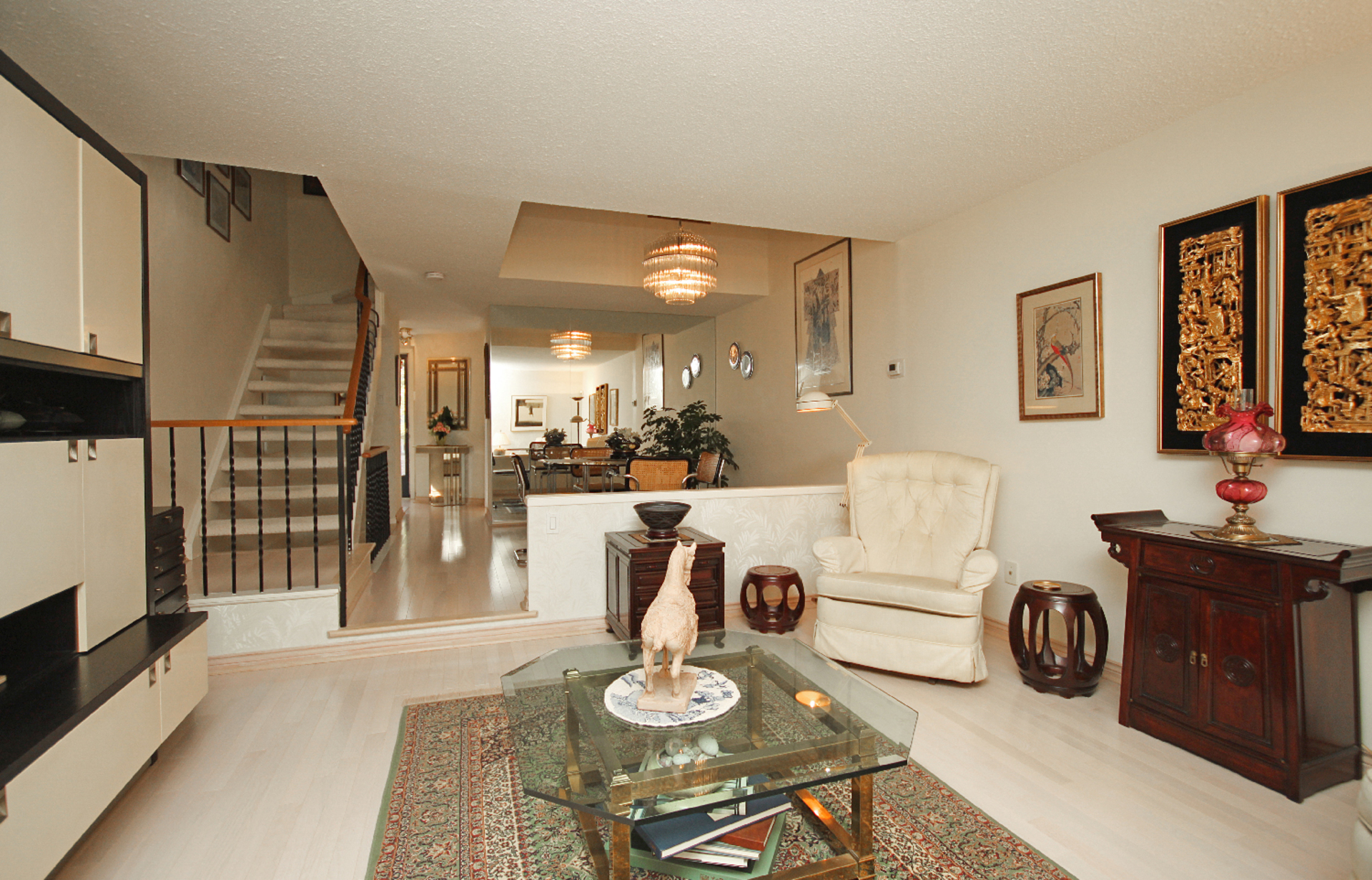 Living Room at 93 Dutch Myrtle Way, Banbury-Don Mills, Toronto