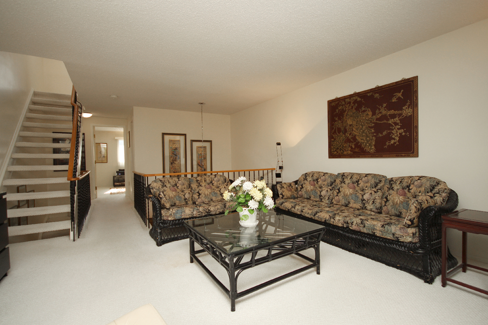 Family Room at 93 Dutch Myrtle Way, Banbury-Don Mills, Toronto