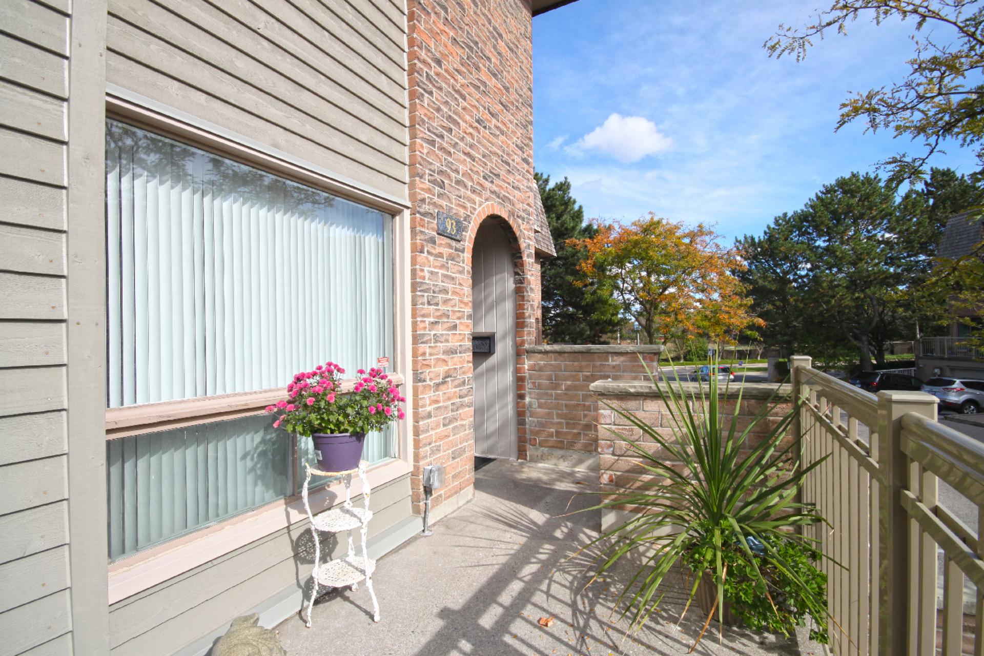 Front Porch at 93 Dutch Myrtle Way, Banbury-Don Mills, Toronto
