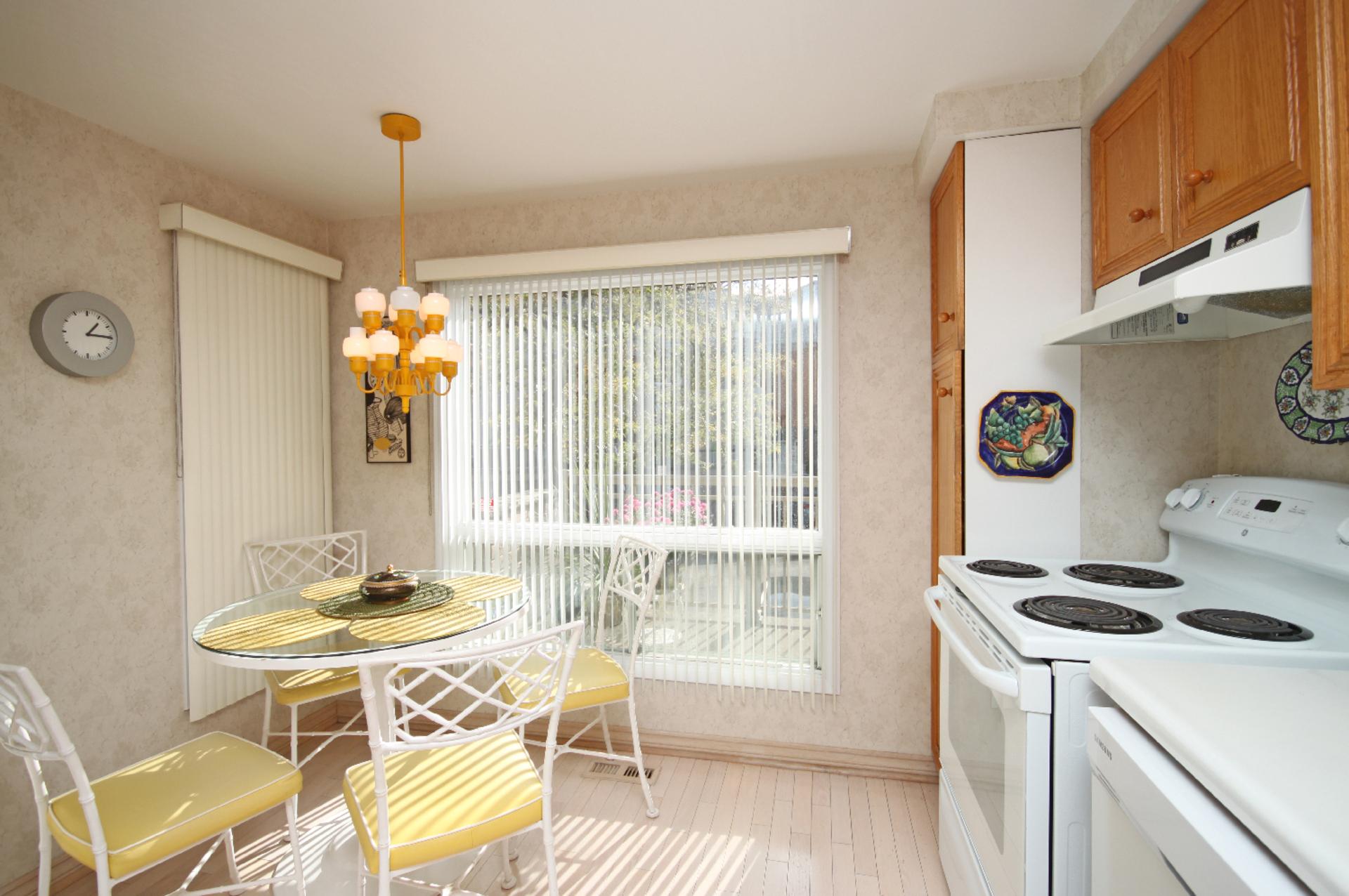Kitchen at 93 Dutch Myrtle Way, Banbury-Don Mills, Toronto