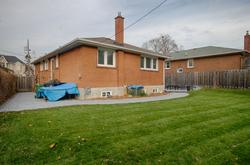 Backyard at 9 Coral Cove Crescent, Parkwoods-Donalda, Toronto