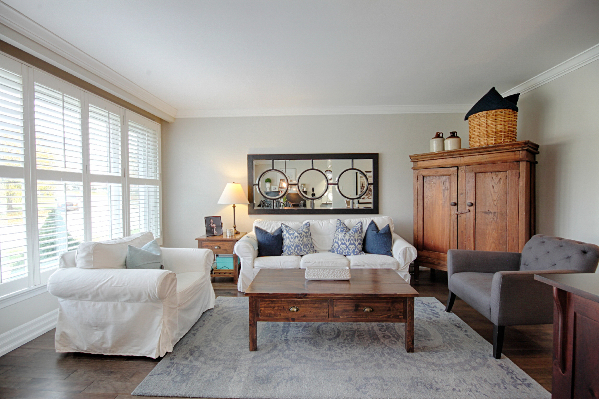 Living Room at 9 Coral Cove Crescent, Parkwoods-Donalda, Toronto