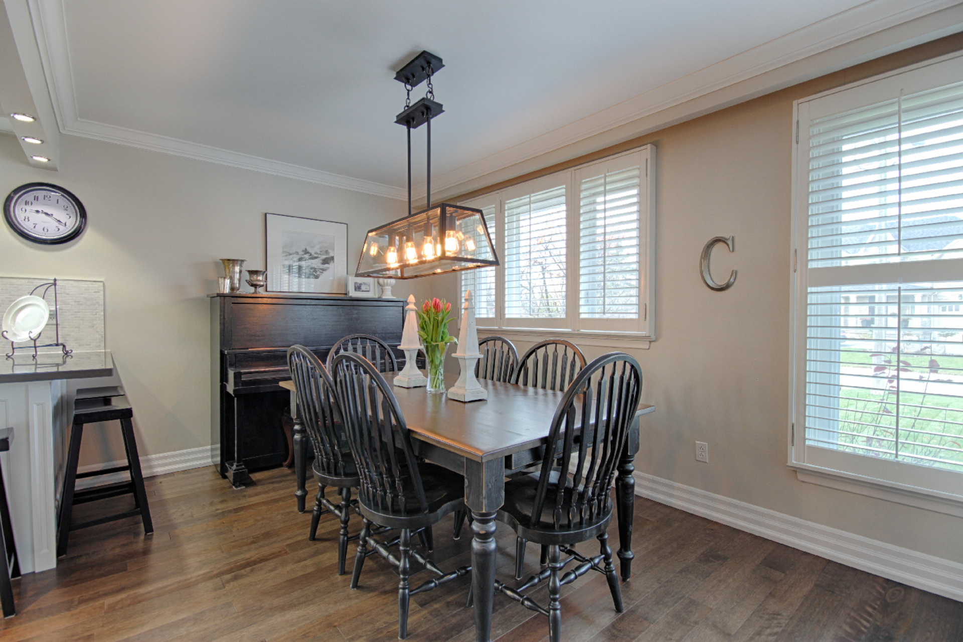 Dining Room at 9 Coral Cove Crescent, Parkwoods-Donalda, Toronto
