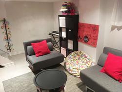 Recreation Room at 151 Three Valleys Drive, Parkwoods-Donalda, Toronto