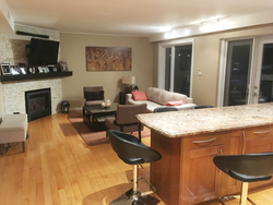 Kitchen & Living Room at 151 Three Valleys Drive, Parkwoods-Donalda, Toronto