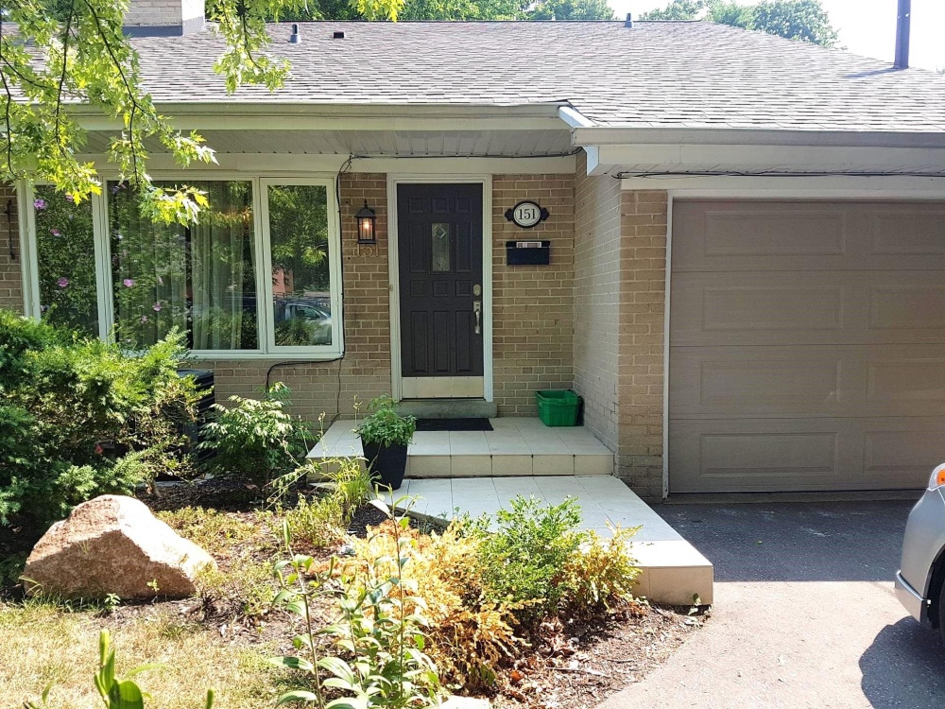Front at 151 Three Valleys Drive, Parkwoods-Donalda, Toronto