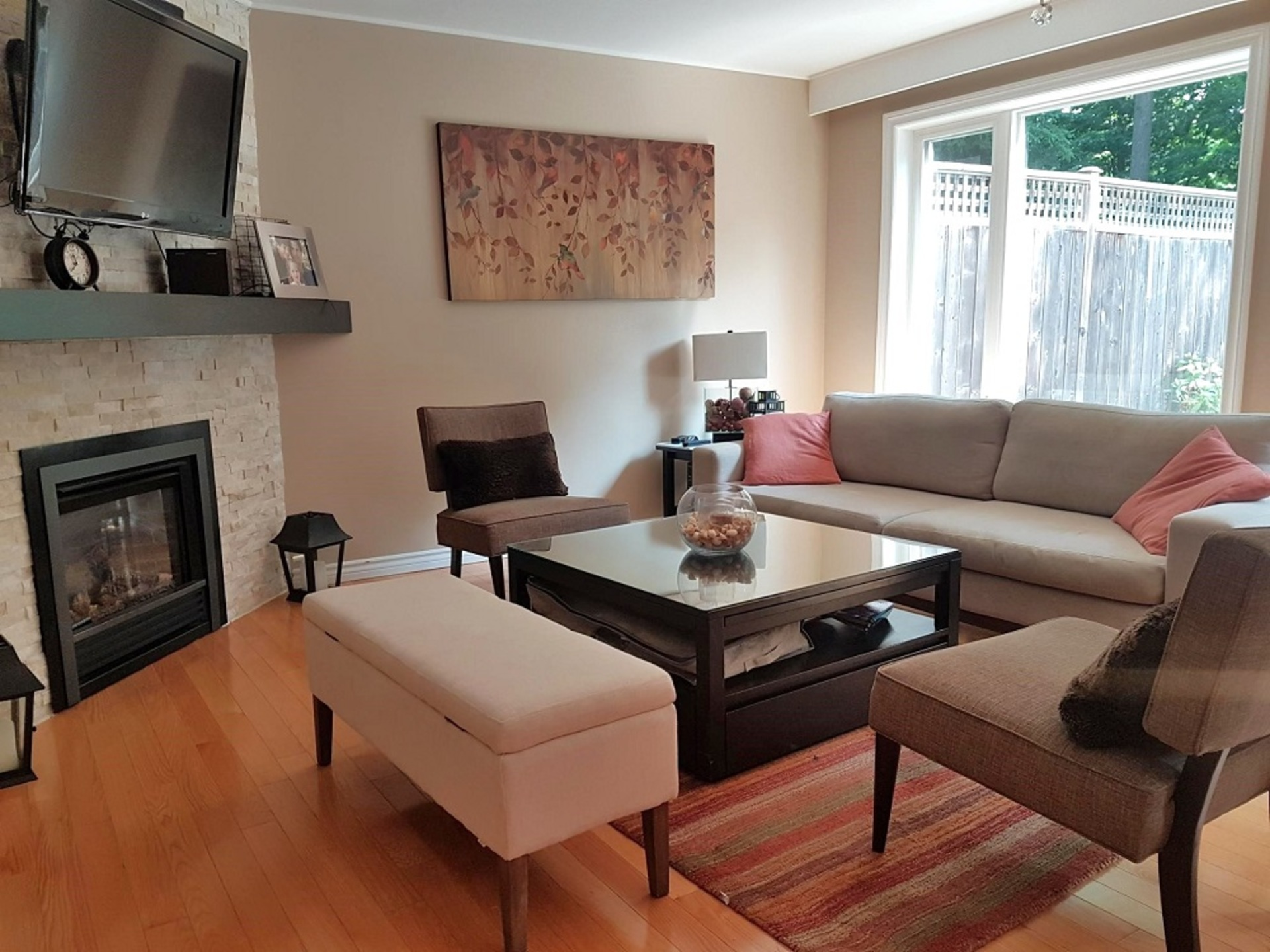 Living Room at 151 Three Valleys Drive, Parkwoods-Donalda, Toronto