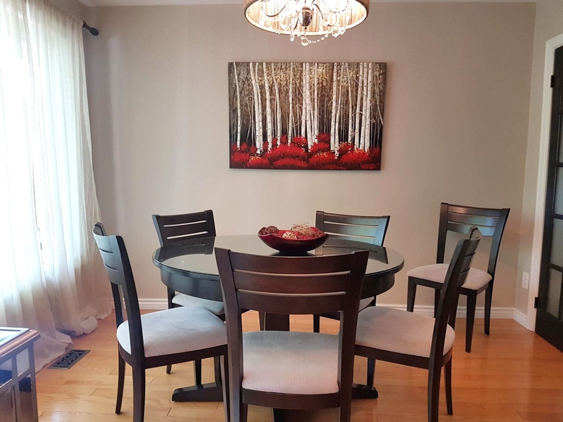 Dining Room at 151 Three Valleys Drive, Parkwoods-Donalda, Toronto