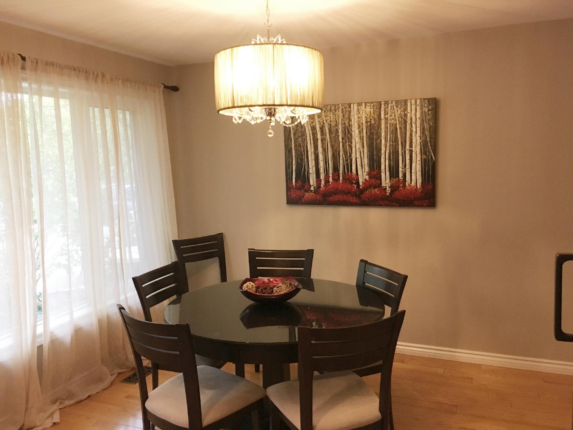 Dining Room at 151 Three Valleys Drive, Parkwoods-Donalda, Toronto