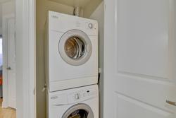 Laundry Closet at 401 - 760 W Sheppard Avenue, Bathurst Manor, Toronto