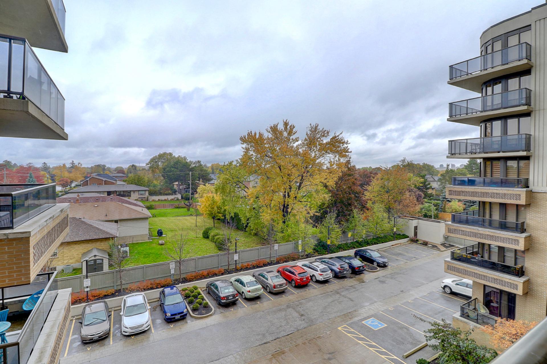 View from Balcony at 401 - 760 W Sheppard Avenue, Bathurst Manor, Toronto