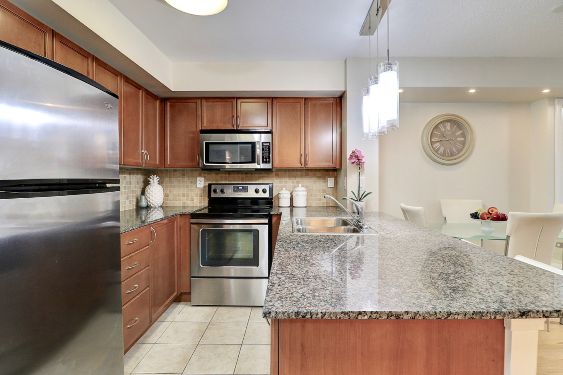 Kitchen at 401 - 760 W Sheppard Avenue, Bathurst Manor, Toronto