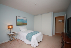 Bedroom at 310 - 18 Concorde Place, Banbury-Don Mills, Toronto