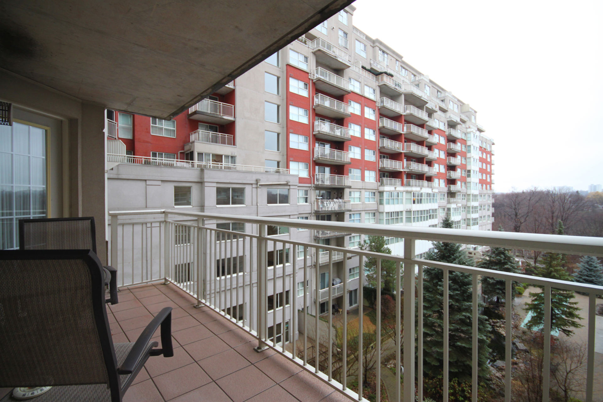 Balcony at 310 - 18 Concorde Place, Banbury-Don Mills, Toronto
