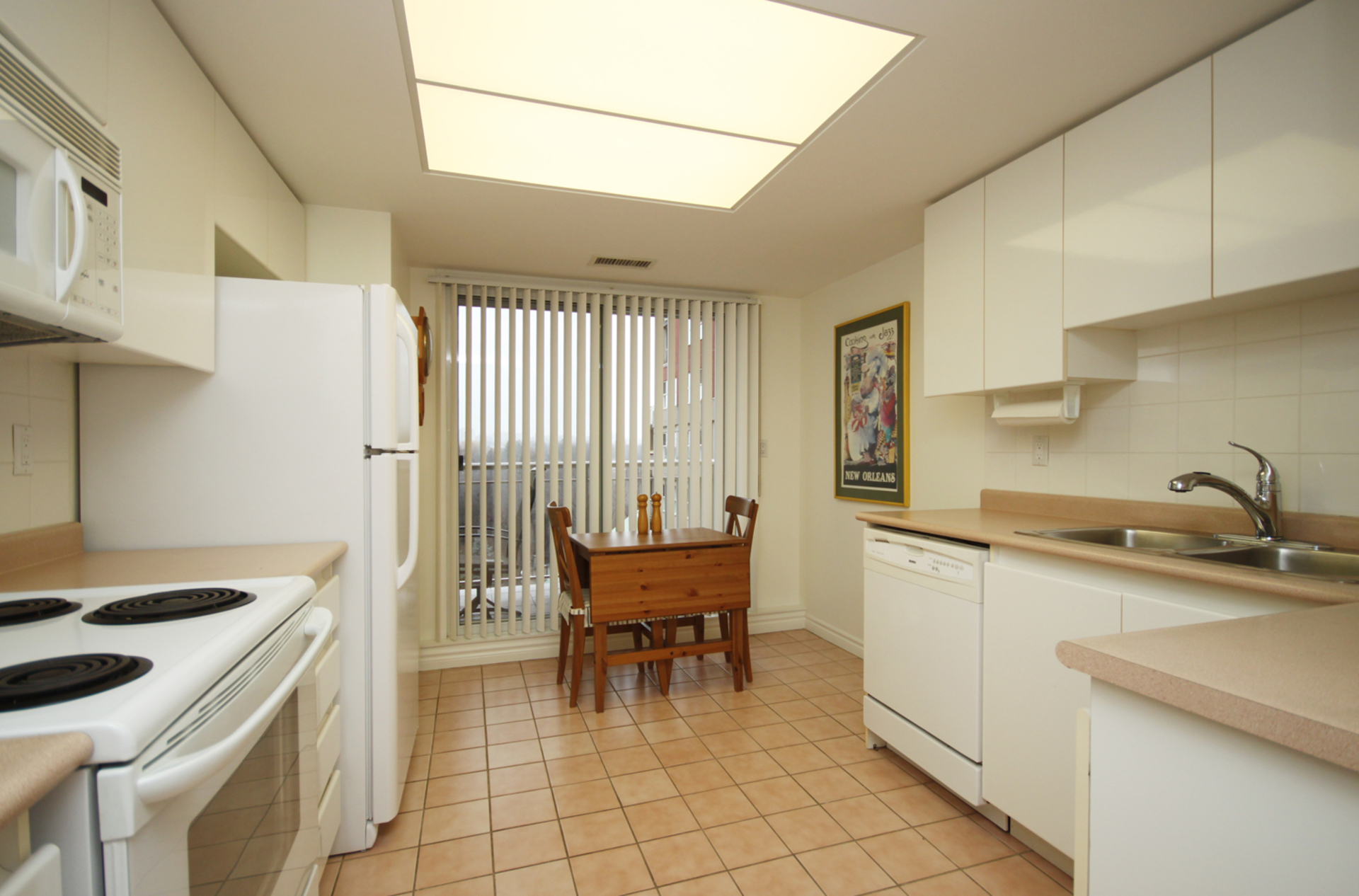 Kitchen at 310 - 18 Concorde Place, Banbury-Don Mills, Toronto