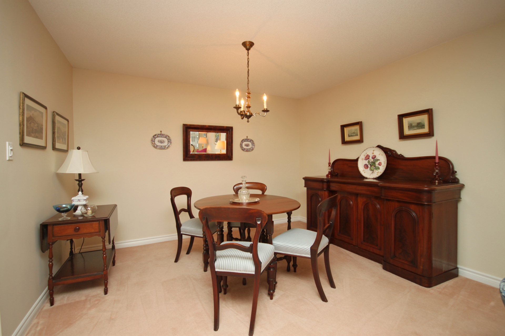 Dining Room at 310 - 18 Concorde Place, Banbury-Don Mills, Toronto