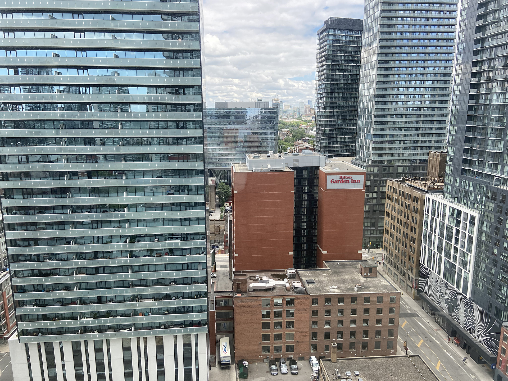View at 2207 - 375 King Street W, Waterfront Communities C1, Toronto
