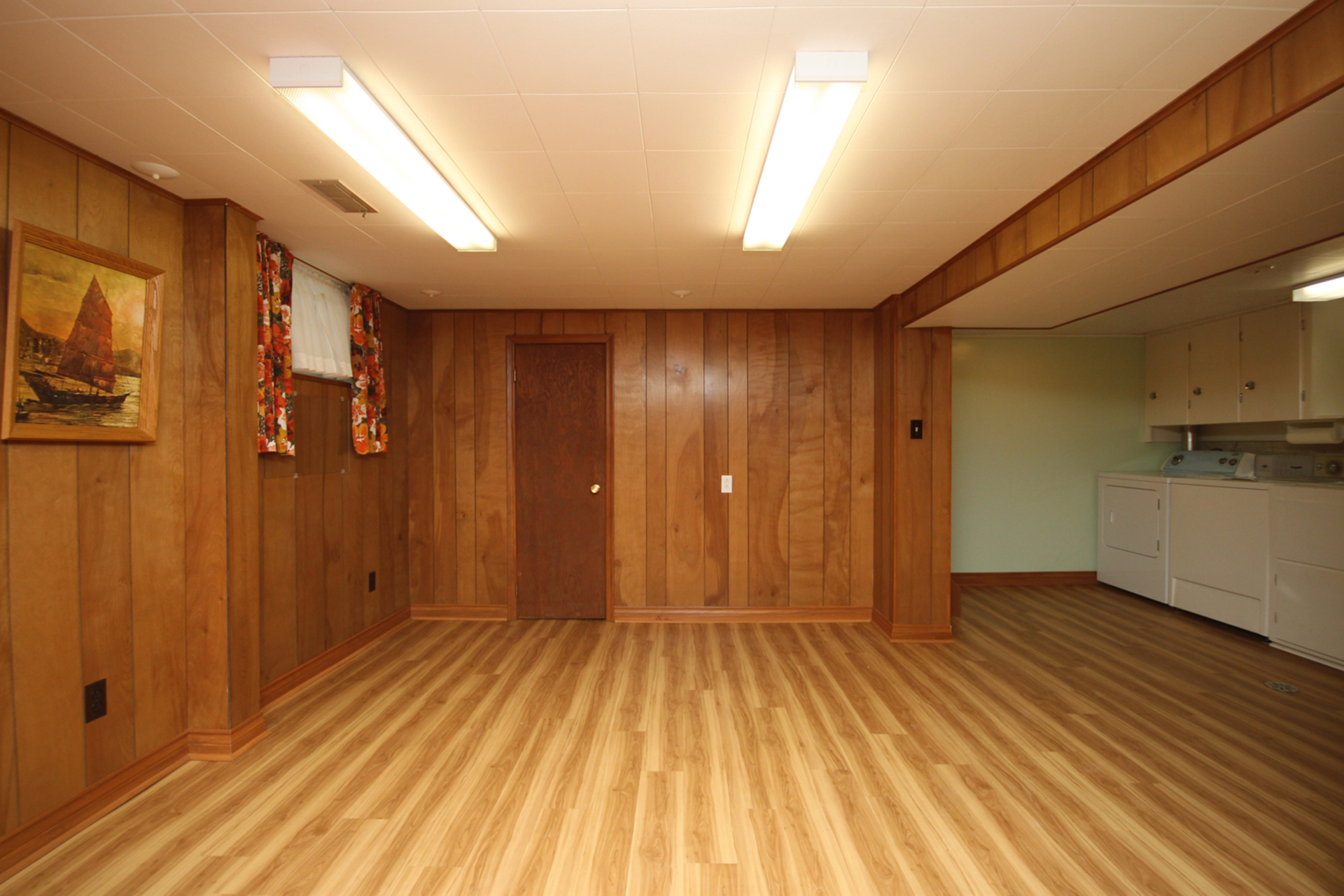 Recreation Room at 61 Marsh Road, Clairlea-Birchmount, Toronto