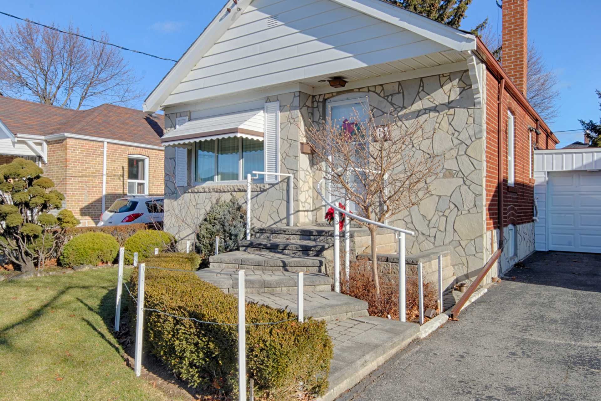 Front at 61 Marsh Road, Clairlea-Birchmount, Toronto