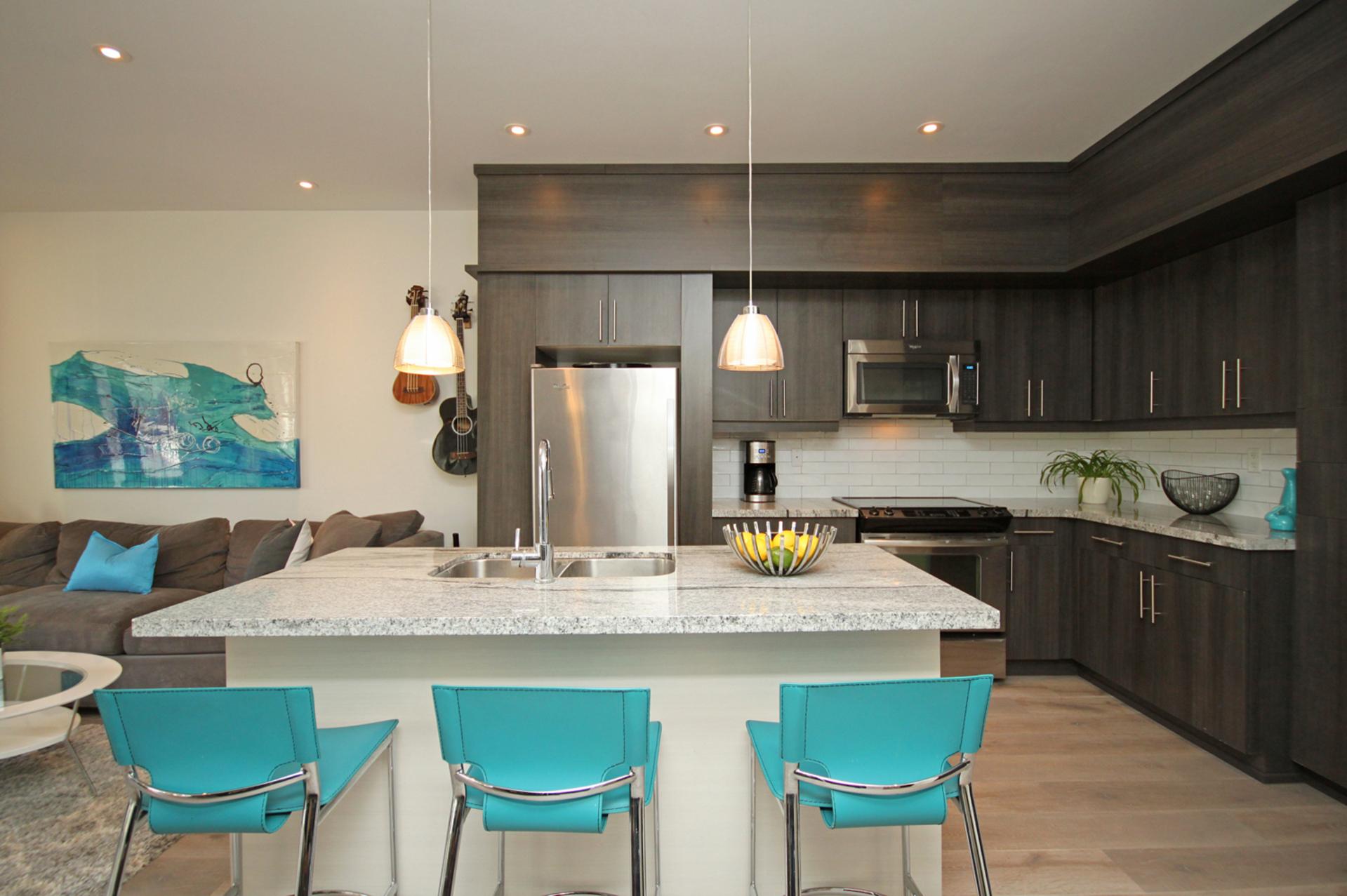 Kitchen at 114 - 2320 Gerrard Street E, East End-Danforth, Toronto