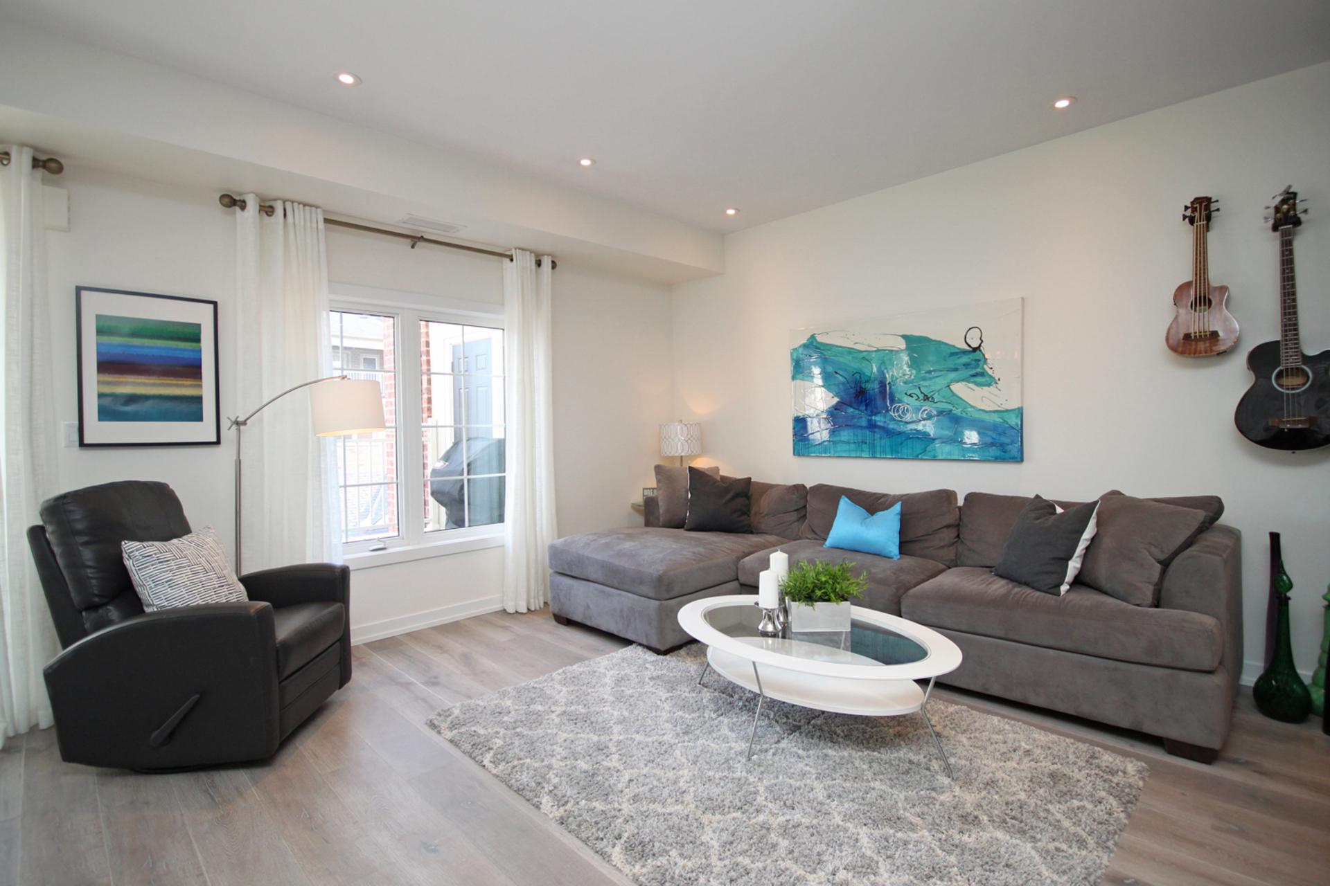 Living Room at 114 - 2320 Gerrard Street E, East End-Danforth, Toronto